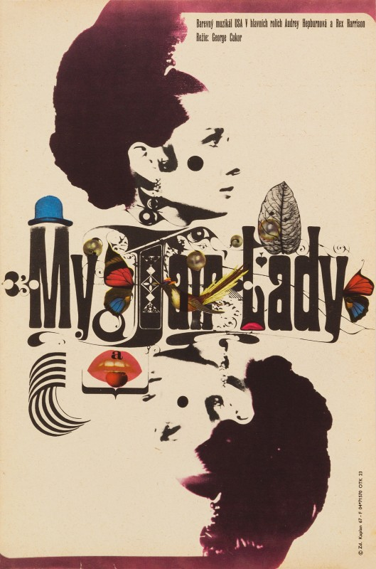 Zdeněk Kaplan, My Fair Lady, 1967