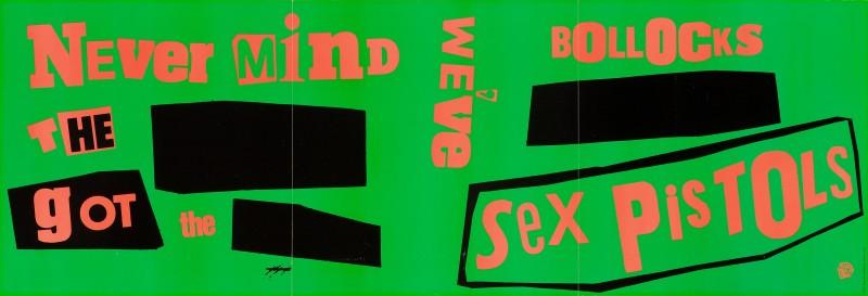 Jamie Reid, The Sex Pistols, 1977