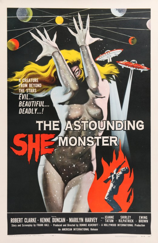 Albert Kallis, The Astounding She-Monster, 1958