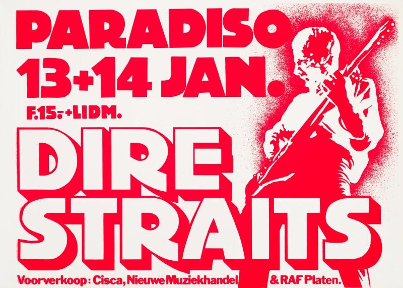 Martin Kaye, Dire Straits, 1981