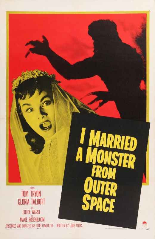 I Married A Monster From Outer Space, 1958