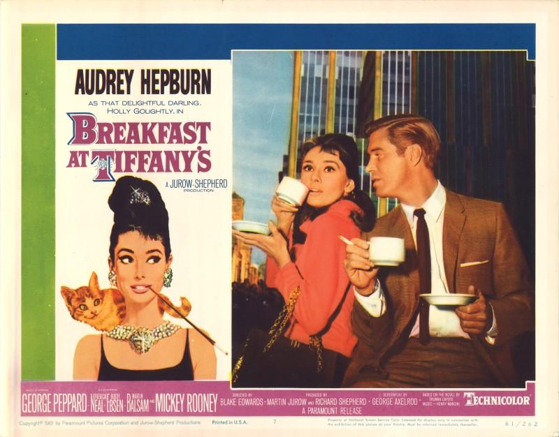 Robert McGinnis, Breakfast At Tiffany's, 1961