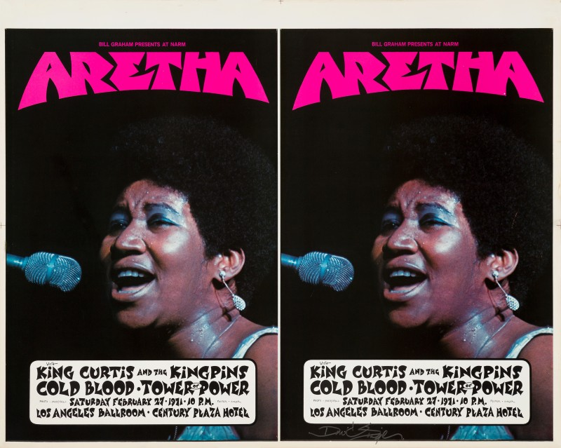 David Singer, Aretha Franklin, 1971