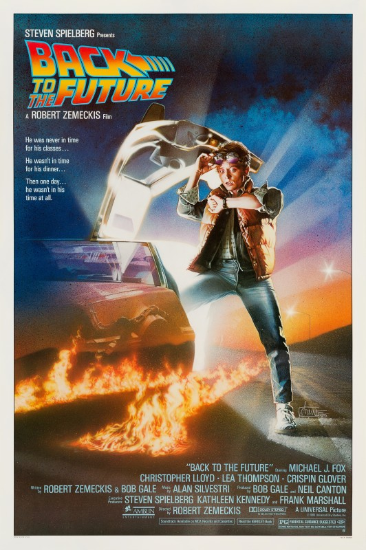 Drew Struzan, Back to the Future, 1985
