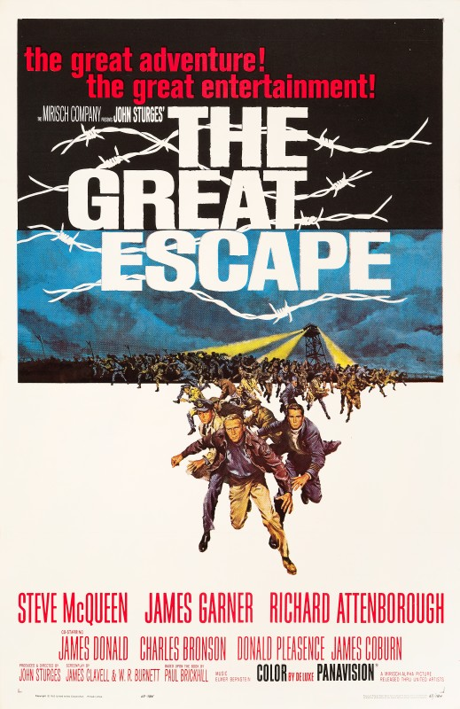 Frank McCarthy, The Great Escape, 1963