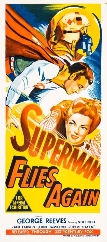Superman Flies Again, 1954