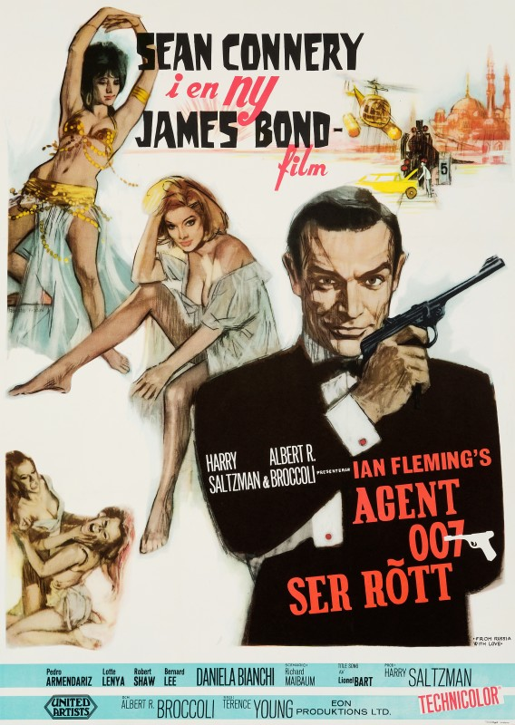 Renato Fratini, From Russia With Love, 1964