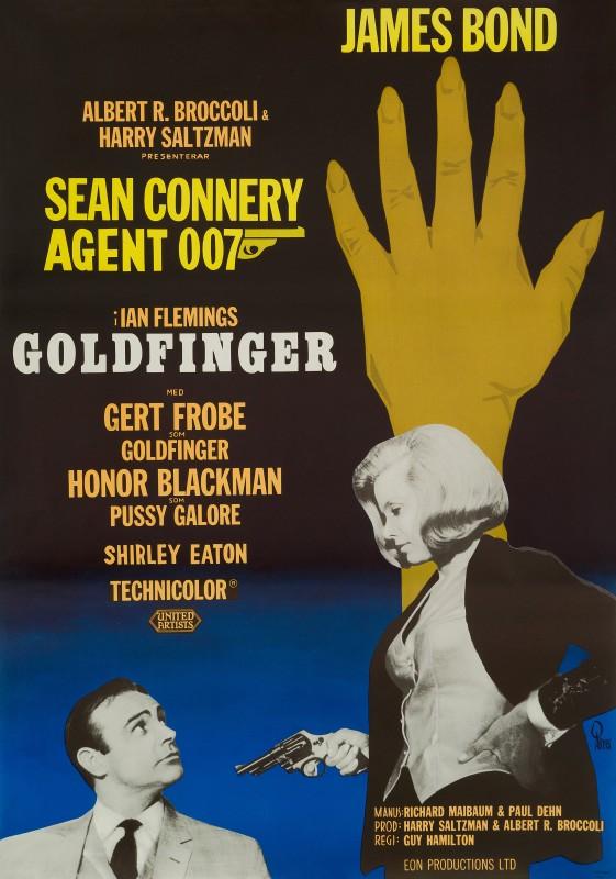 Gosta Aberg, Goldfinger, 1967