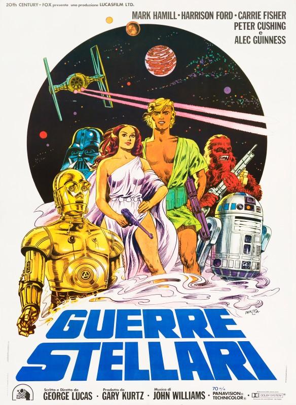 Michelangelo Papuzza, Star Wars, 1977