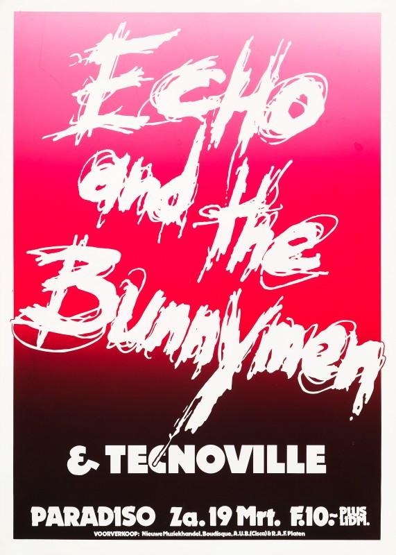 Martin Kaye, Echo & the Bunnymen, 1983