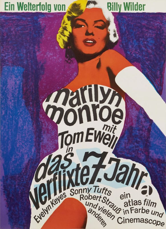 Dorothea Fischer-Nosbisch, The Seven Year Itch, 1966 Re-release