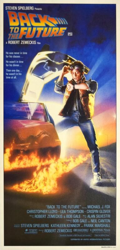 Drew Struzan , Back To The Future, 1985