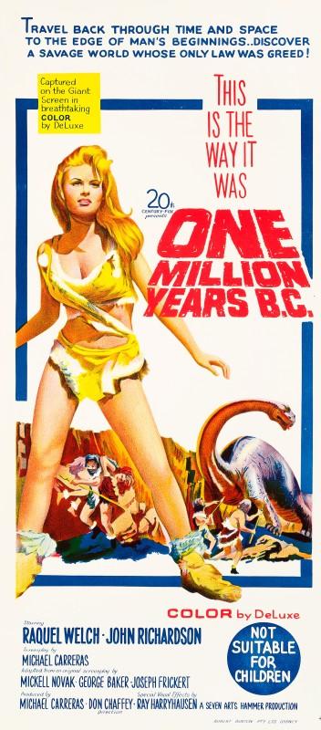 One Million Years B.C., 1966