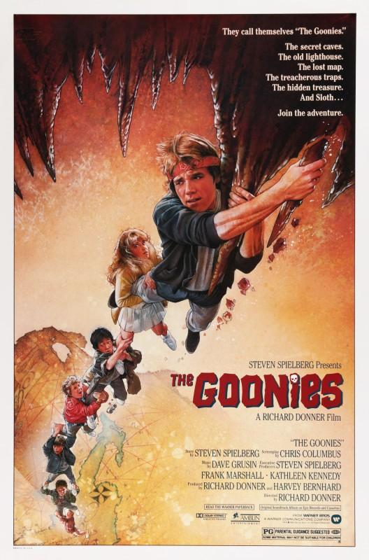 Drew Struzan, The Goonies, 1985