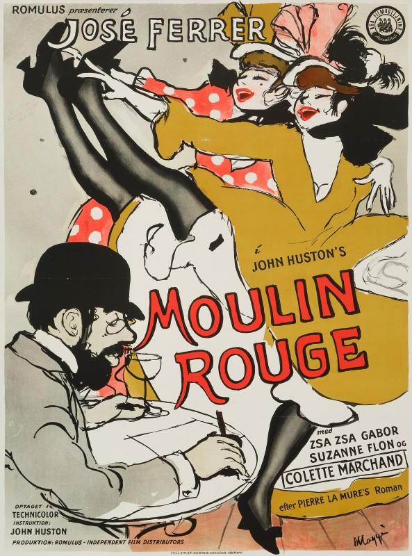 Maggi Baaring, Moulin Rouge, 1955