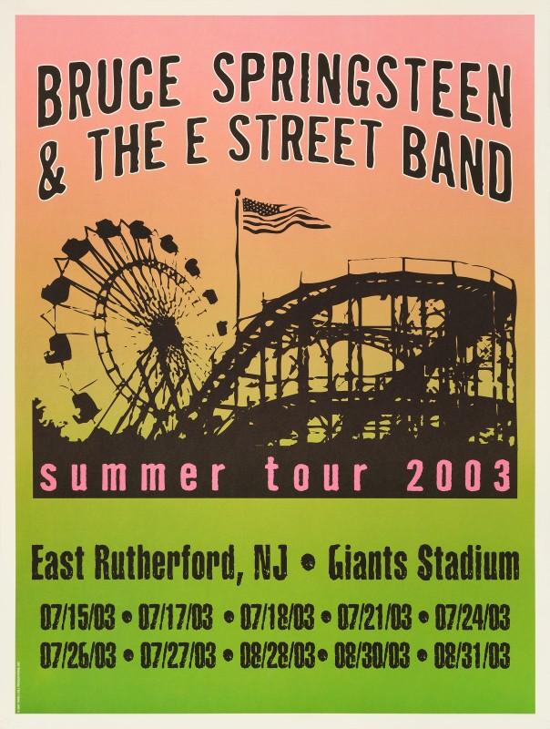 Bruce Springsteen, 2003