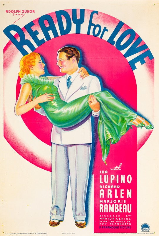 Ready For Love, 1934