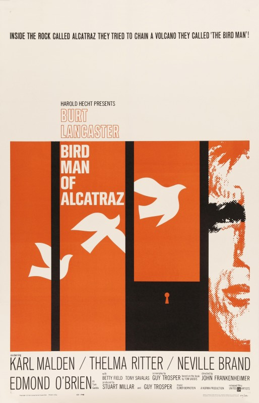 Birdman of Alcatraz, 1962