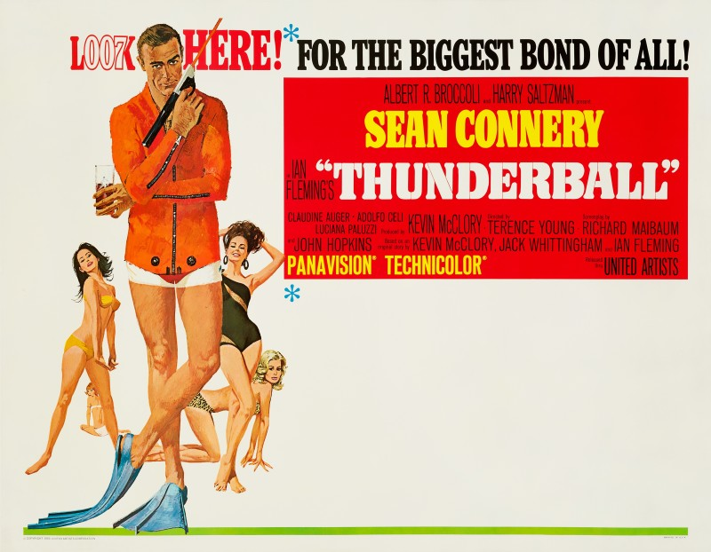 Robert McGinnis, Thunderball, 1965