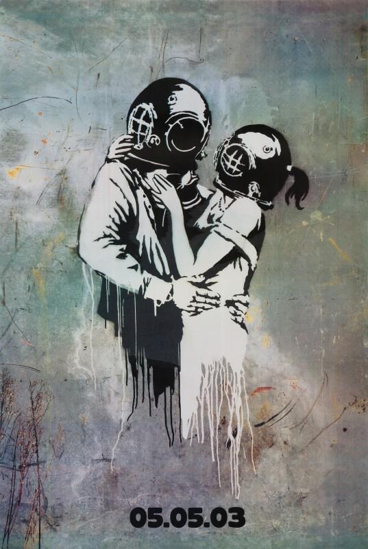 Banksy, Blur, 2003