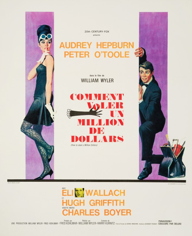 Robert McGinnis, How To Steal A Million, 1966
