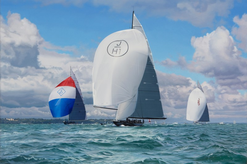 'Downwind Start', Royal Yacht Squadron Bicentenary 2015