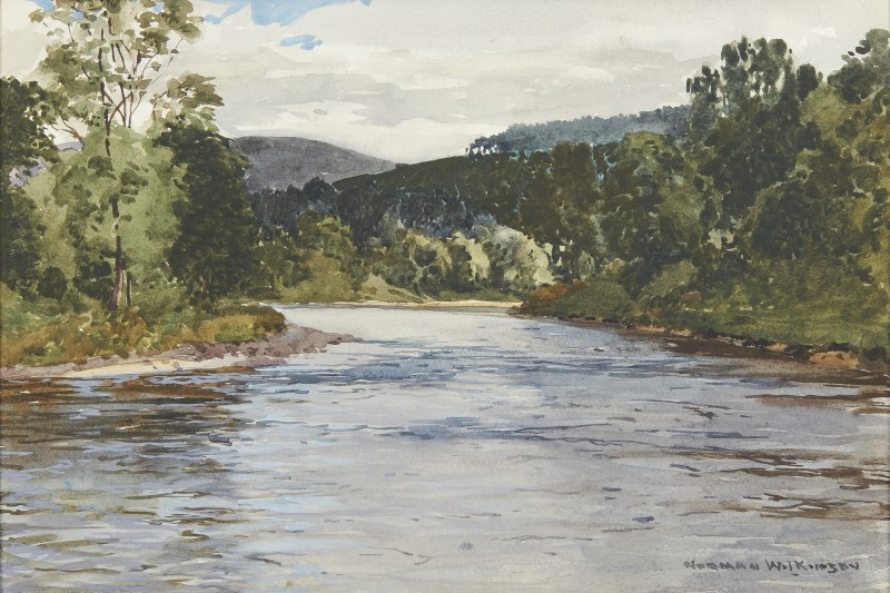 A stretch of the River Spey