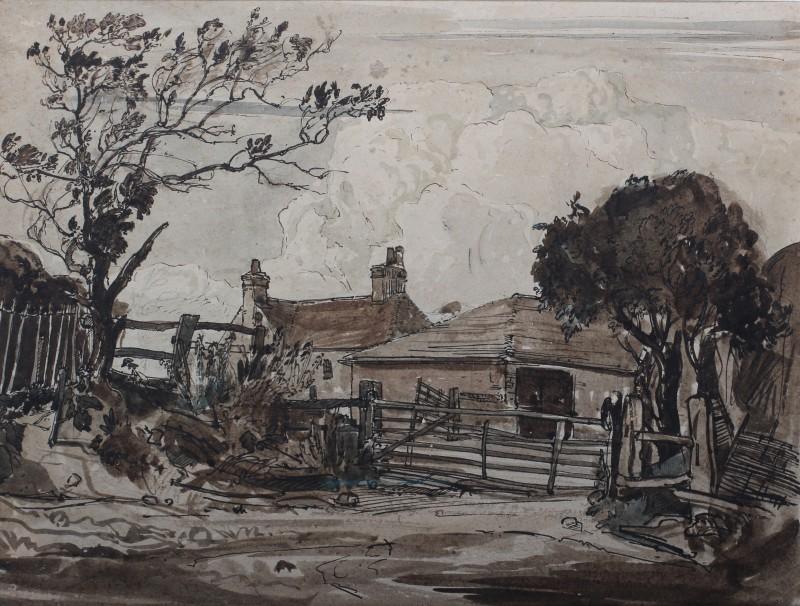 Claude Muncaster , PRSMA, RWS, ROI, RBA, Fewker's farm, Sutton