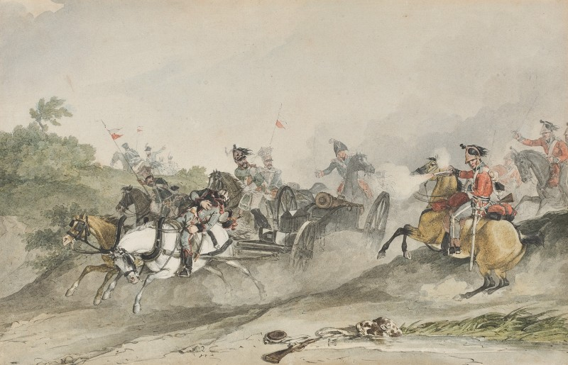 The First King's Dragoon Guards at Waterloo, June 18th, 1815