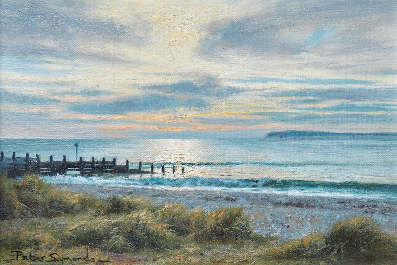 Peter Symonds , Sunset from West Wittering