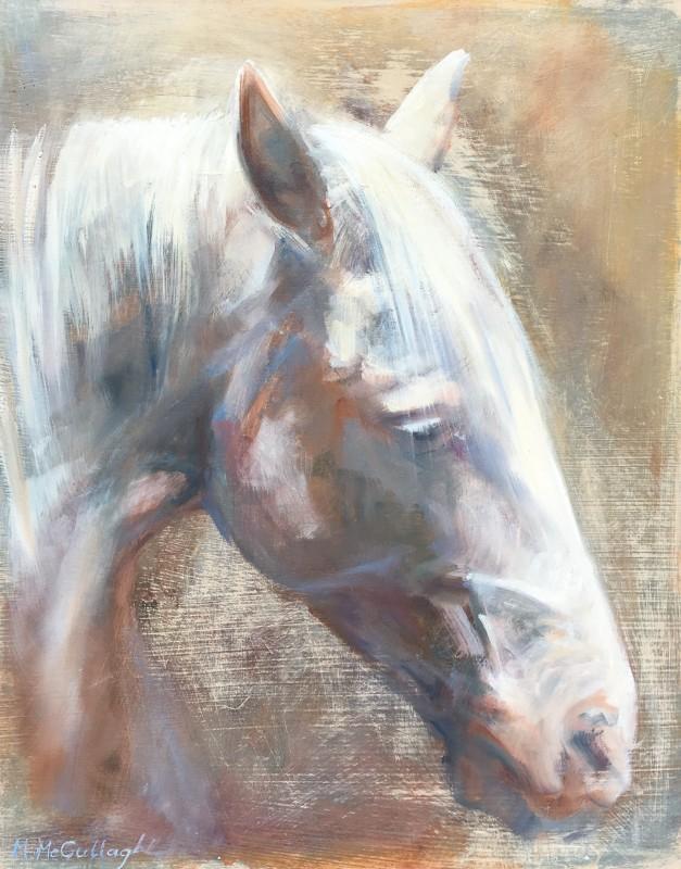 Michelle McCullagh , White Horse Head