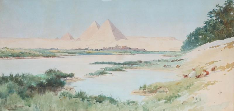 Robert George Talbot Kelly , The Pyramids at Giza