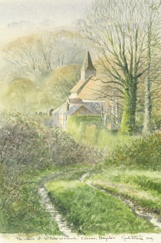Gordon Rushmer , The Church of St. Peter ad Vincula, Colemore