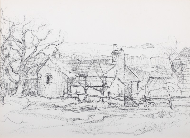 Cottages near Byworth, Sussex