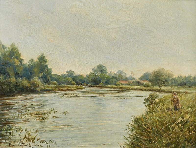 William Barrington-Browne , Longparish, River Test