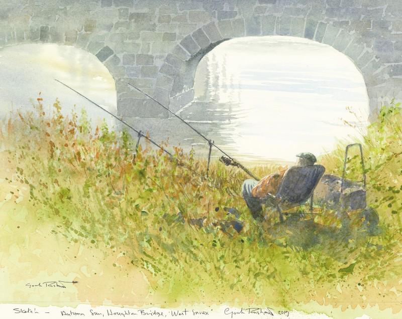 Autumn Sun, Houghton Bridge