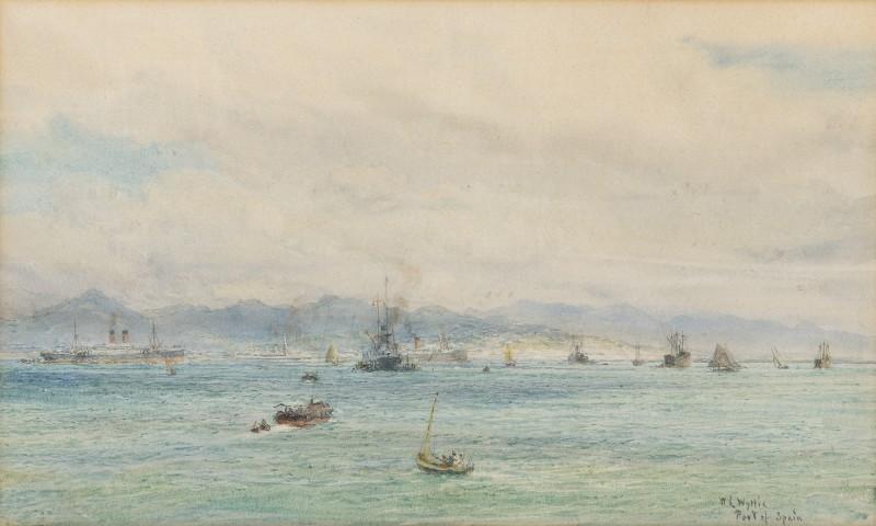 William Lionel Wyllie , RA, Port of Spain, Trinidad, West Indies