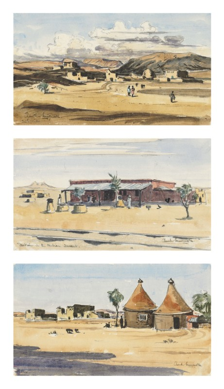 Sketches of the Nubian Desert