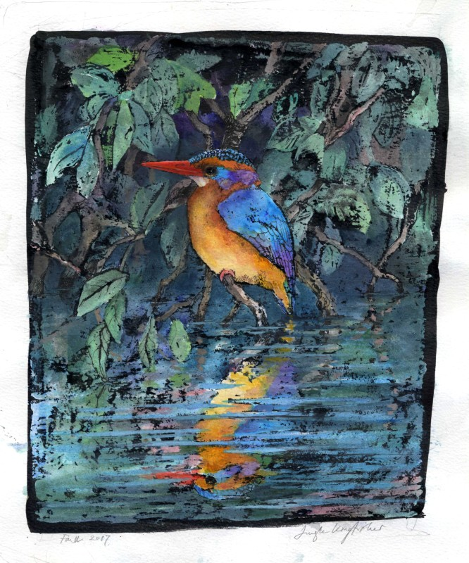 Emma Faull , Jungle Kingfisher II