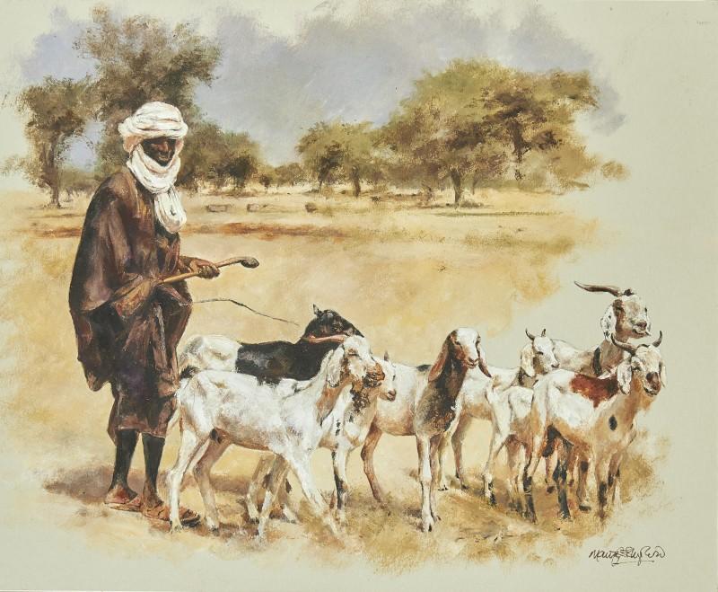 Goat herder, Kenya
