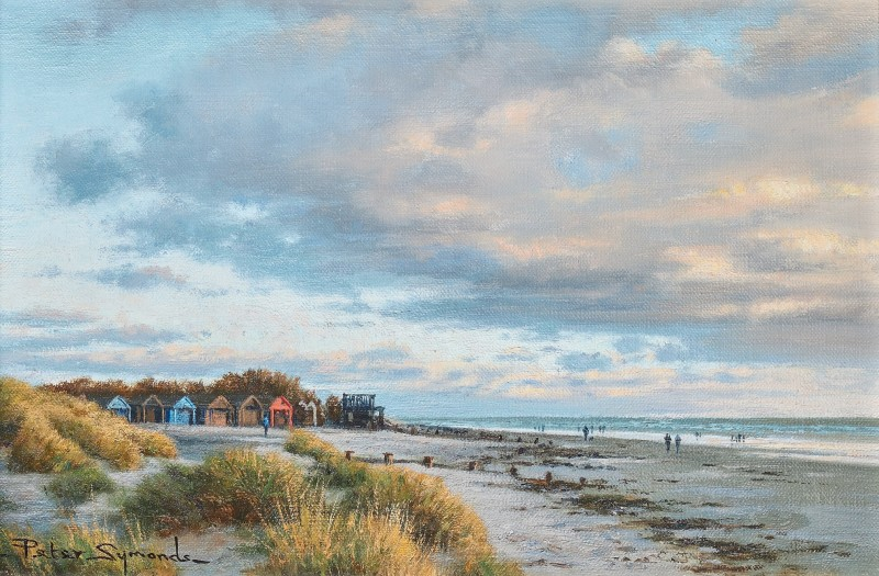 Peter Symonds , Early evening, West Wittering