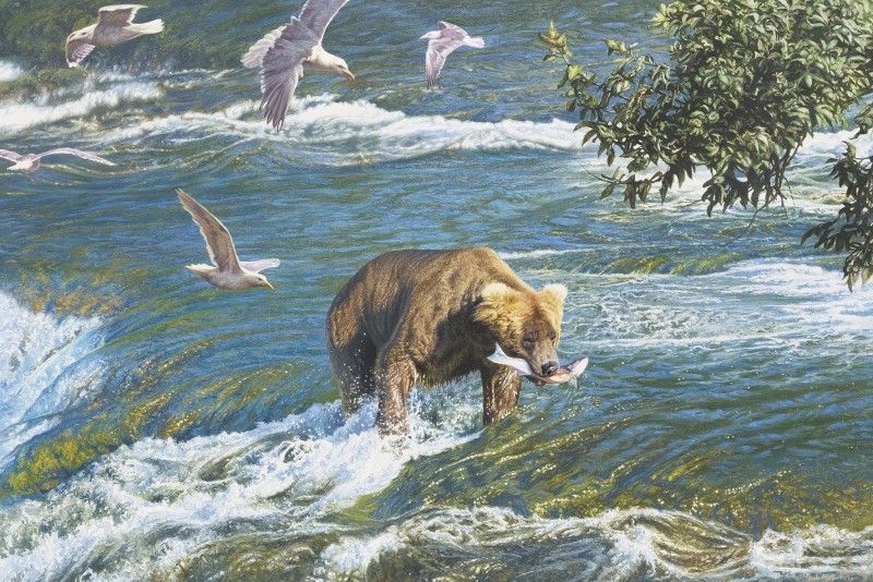 Paul Augustinus , Bear, Alaska