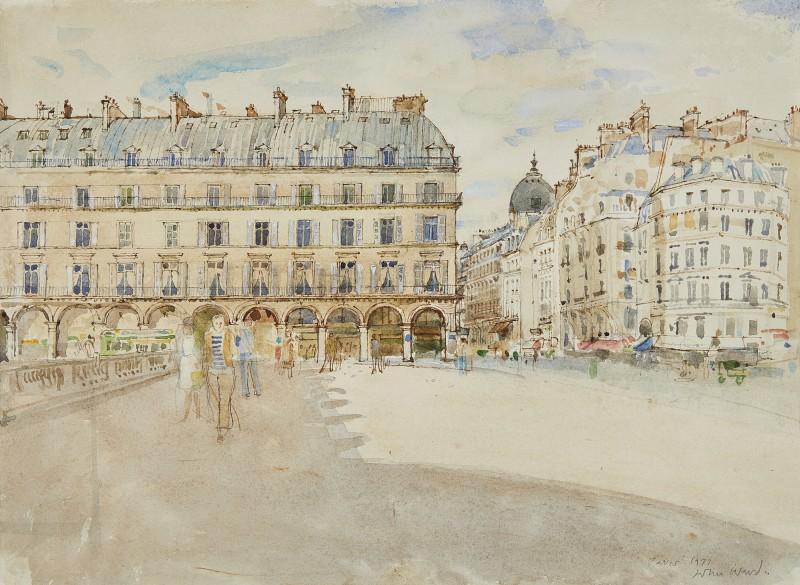 John Stanton Ward , CBE, Rue de Rivoli, Paris