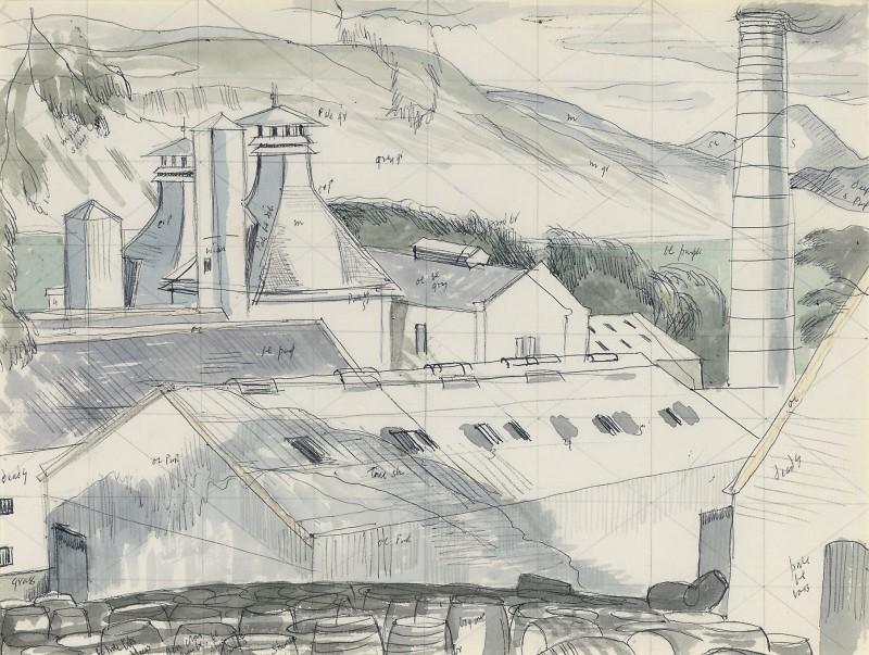 Talisker distillery, Skye