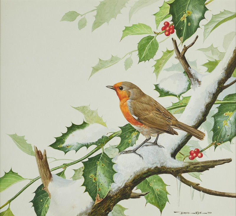 Basil Ede , Winter Robin