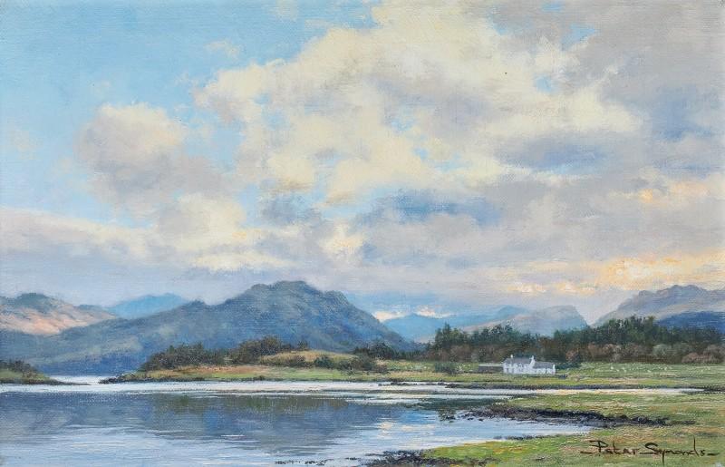 Peter Symonds , Dawn, Loch Creran, Argyll, Scotland