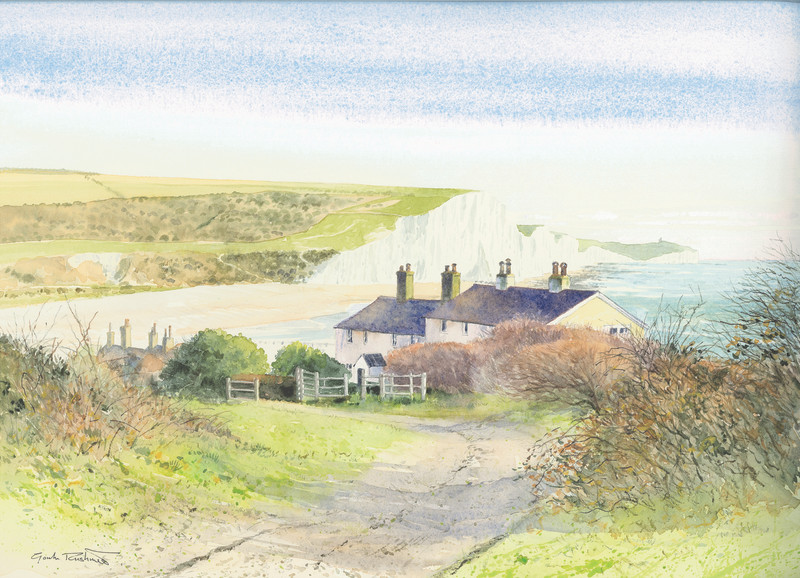 Coastguard Cottages, Cuckmere Haven and the Seven Sisters
