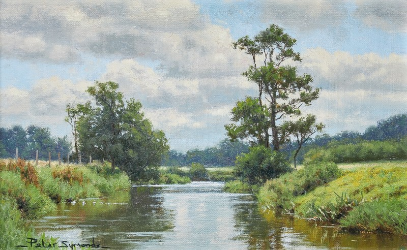 Peter Symonds , River Rother near Shopham Bridge