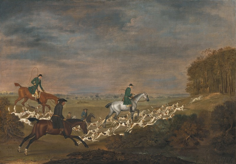 Sir William Jolliffe's hounds