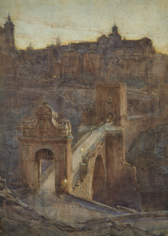 Henry Charles Brewer , The entrance to the city, Toledo